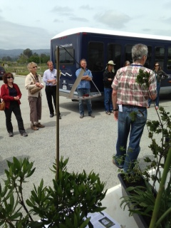 Mary Lou Nicoletti, Santa Cruz Ag Commissioner on the UCCE Santa Cruz Farm Tour